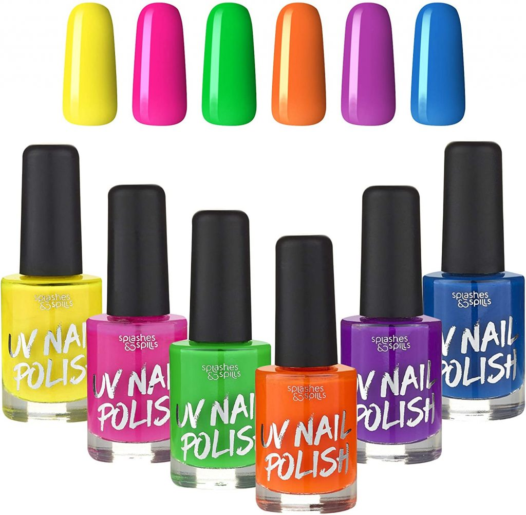 Splashes & Spills Uv Glow Nail Polish